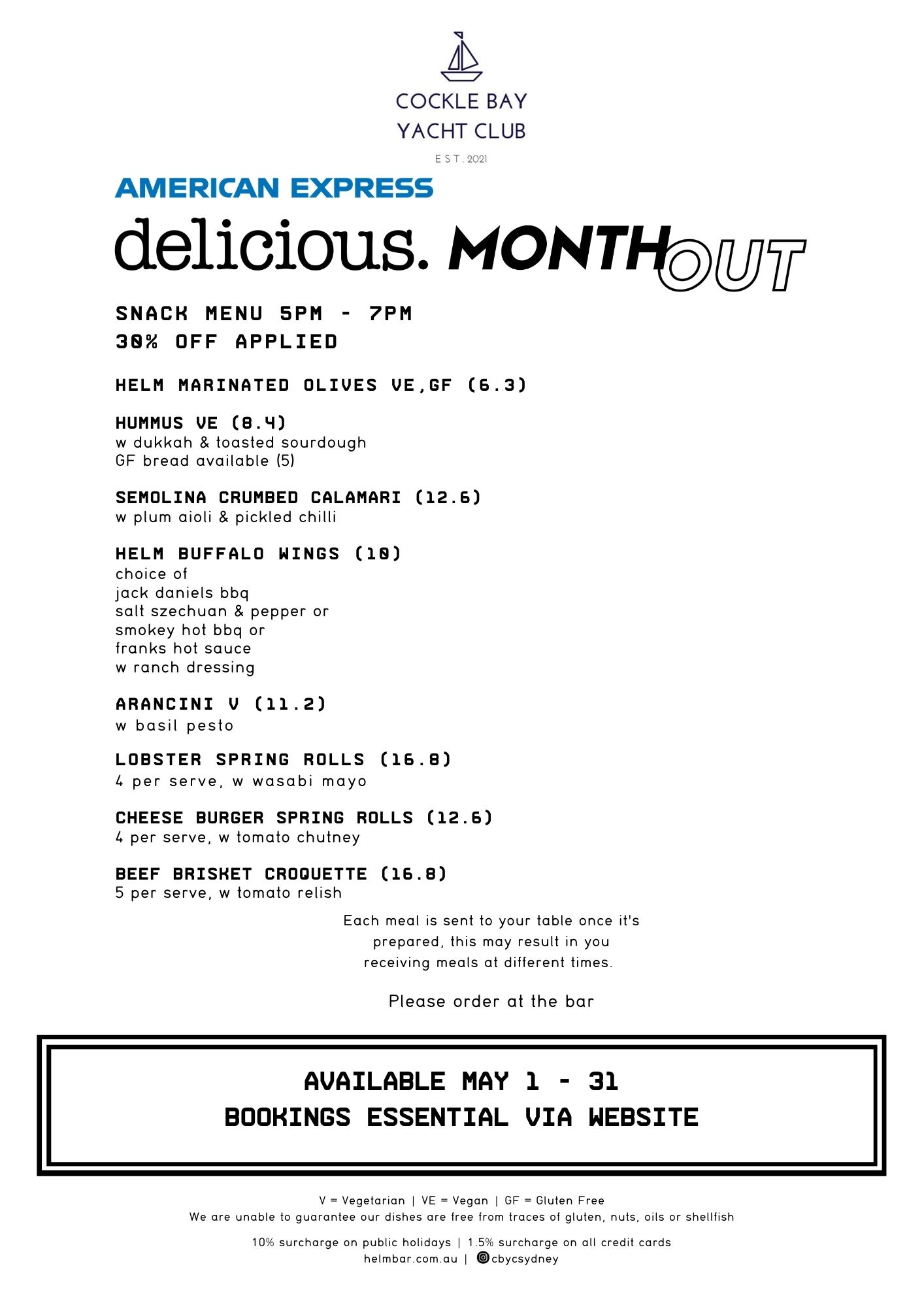 Delicious Month